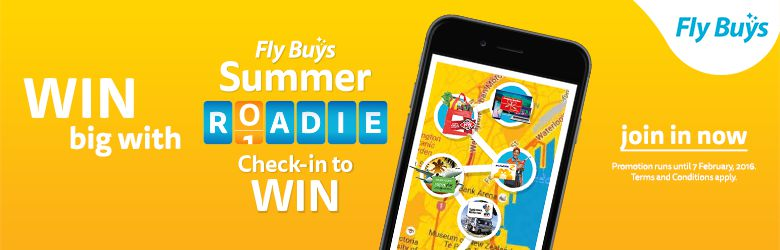 Fly Buys Summer Roadie - Check-in to WIN