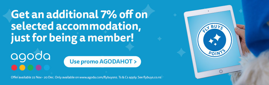 Get an additional 7% off on selected accommodation, just for being a member!