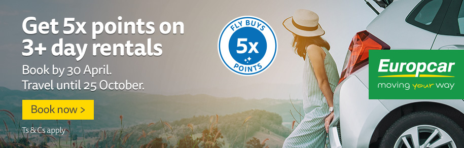 Europcar 5x points