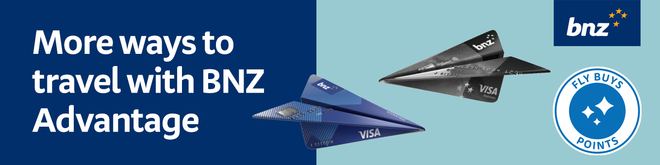 more ways to travel with BNZ Advantage