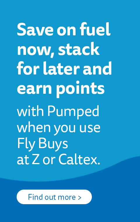 Pumped - the new fuel rewards programme