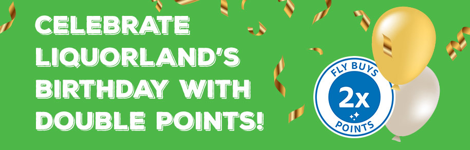 Get 2x Points at Liquorland