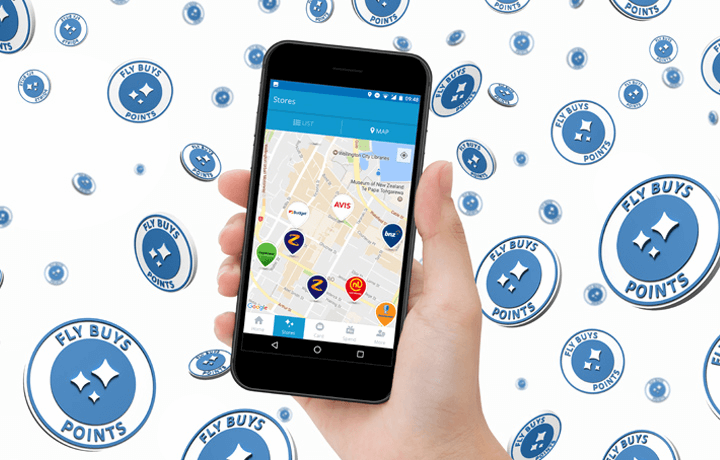 Download our app to find points near you.