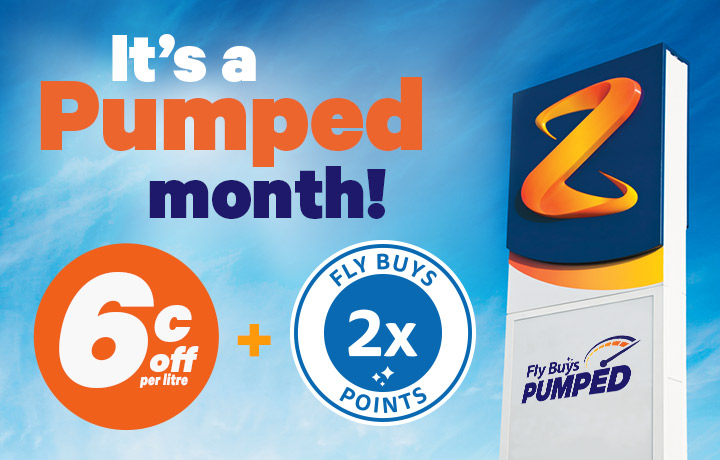 Get 6c off per litre + 2x points for all of March!
