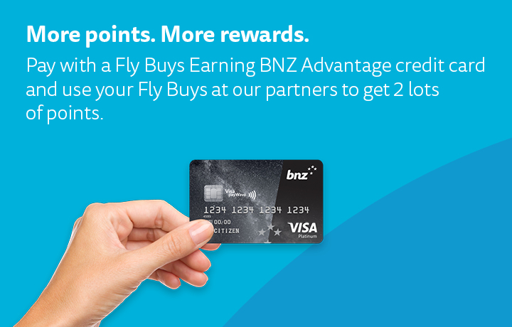 Turbo-boost your Fly Buys with BNZ.