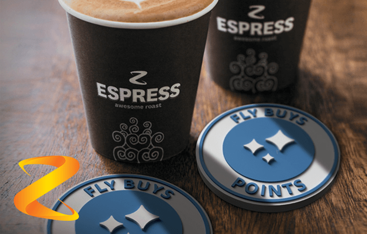 Get a great coffee. Get another point at Z Energy.
