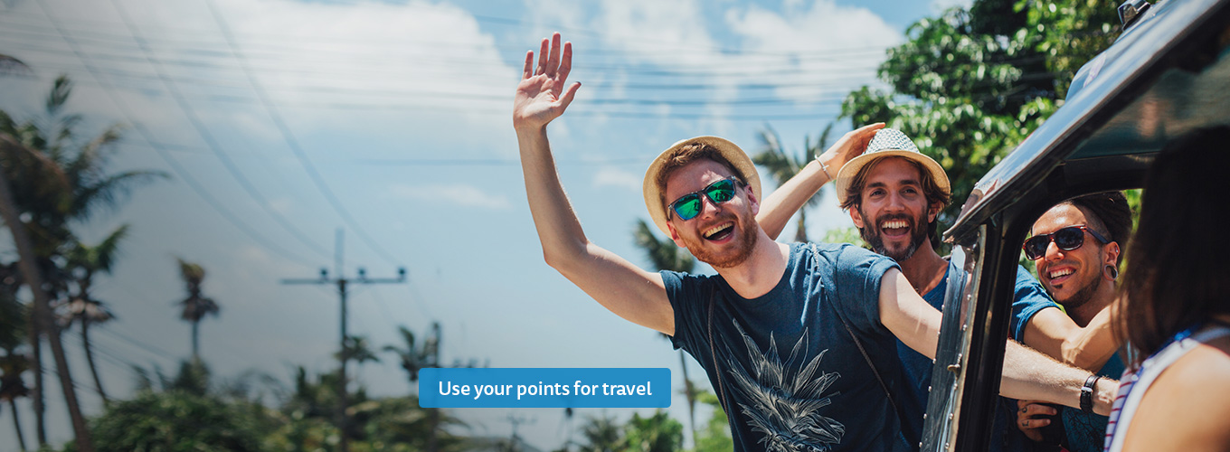 Use your Fly Buys points for travel