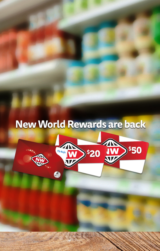 New World Gift Cards are back!
