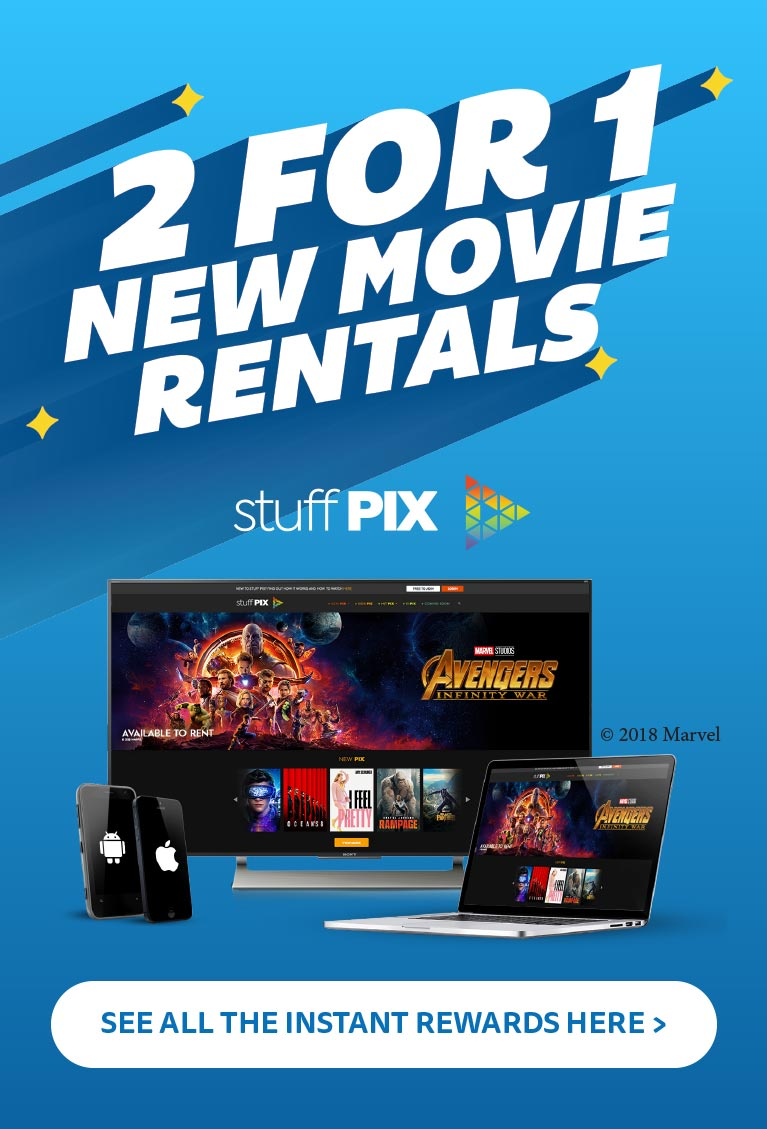 Grab a special offer from Stuff Pix with Instant Rewards