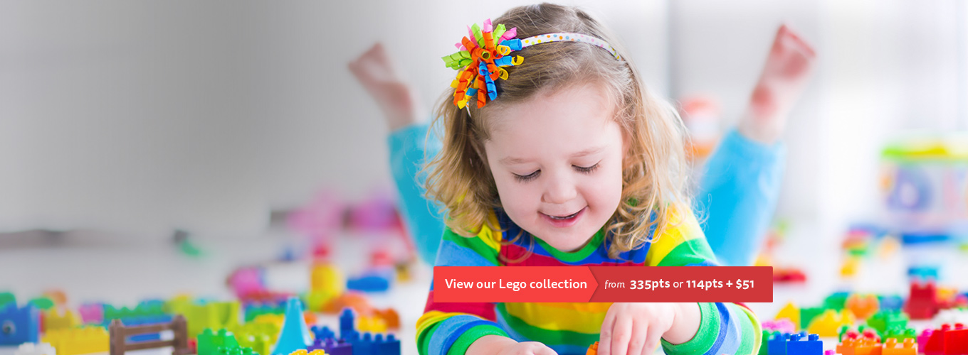 View our Lego collection from 335pts