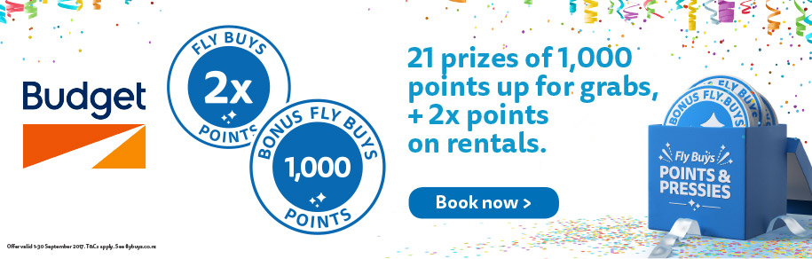 21 prizes of 1,000 points up for grabs, plus 2x points on rentals.