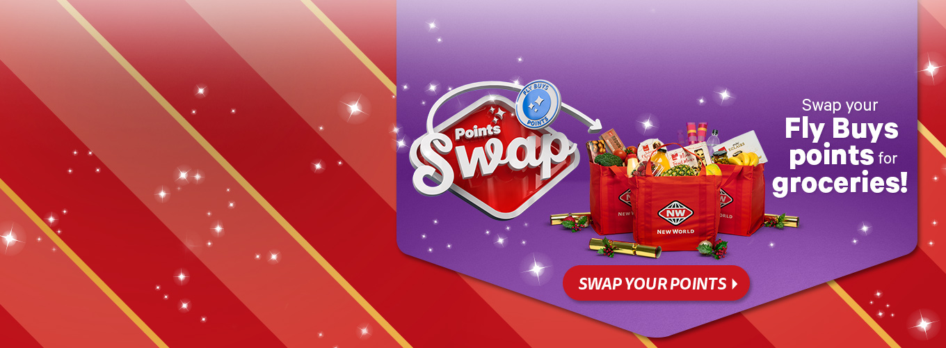 Swap your points for groceries!