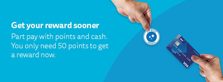 Short on points? Top up with cash.