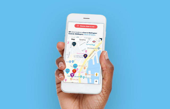 Find places to earn Flybuys nearby