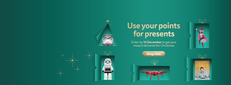 Christmas Rewards- last change to redeem couriered rewards