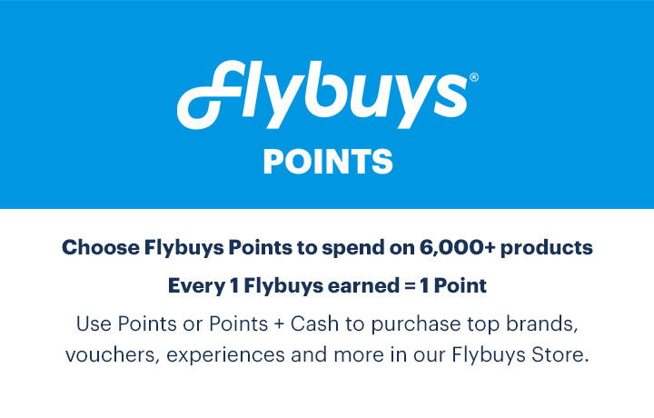 Sign in to choose Flybuys Points