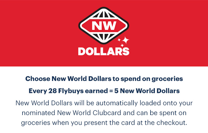 Sign in to choose New World Dollars