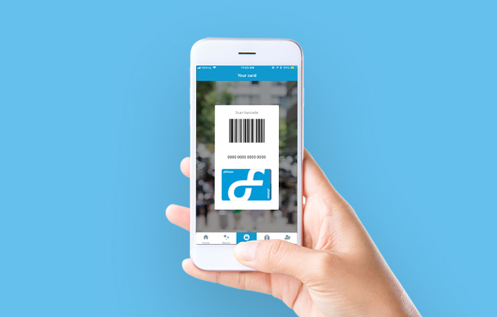 Use your digital card in the Flybuys app, so you never miss out on earning more