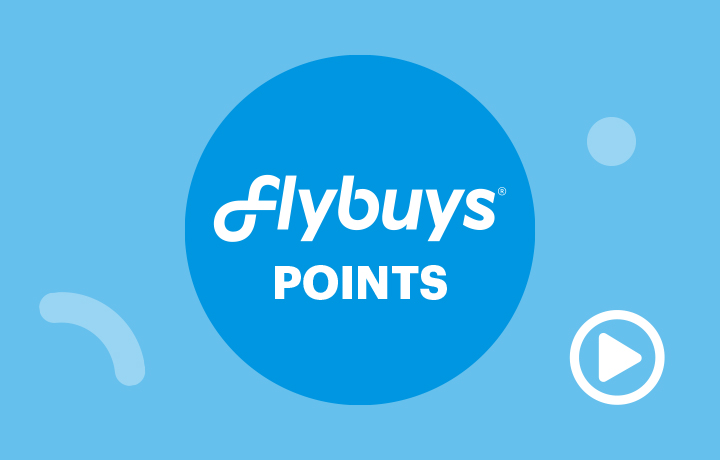 Watch the video about Flybuys Points