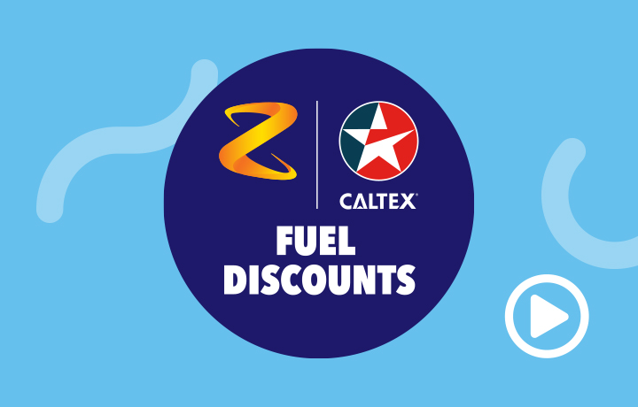 Watch the video about Z & Caltex Fuel Discounts