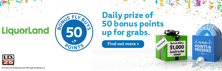 Daily prize of 50 bonus points up for grabs.