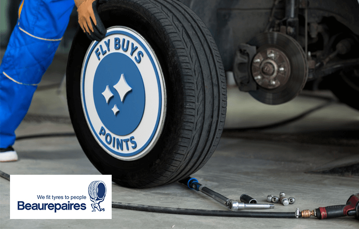 Performance tyres. Performance points with Beaurepaires.