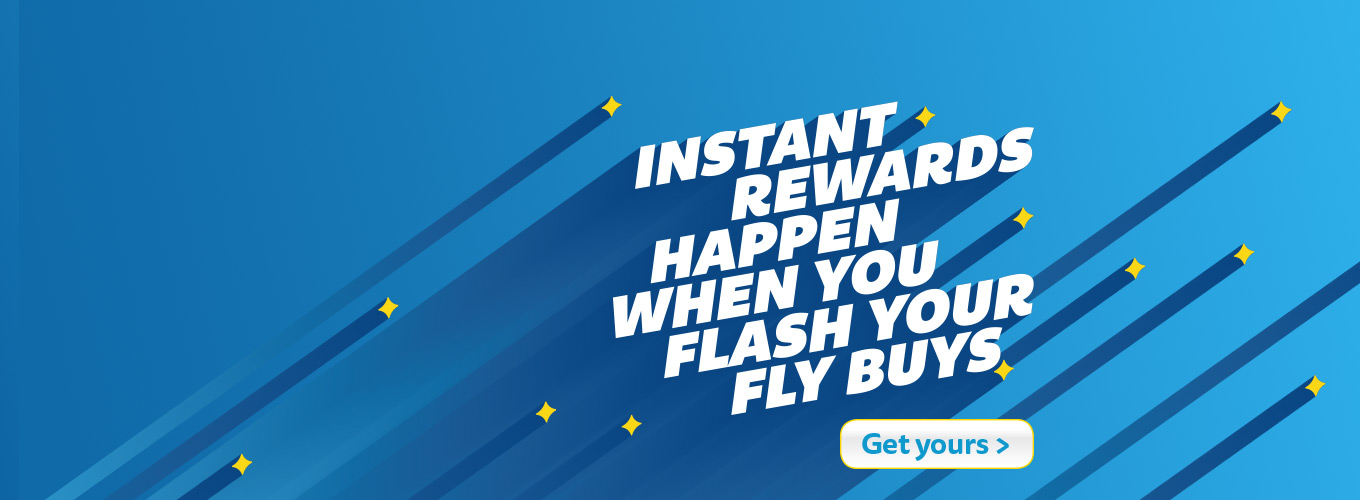 Instant Rewards Happen When You Flash Your Fly Buys