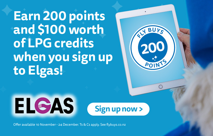 200 points and $100 free LPG credits for Christmas. 10 Nov-24 Dec. T&Cs apply.