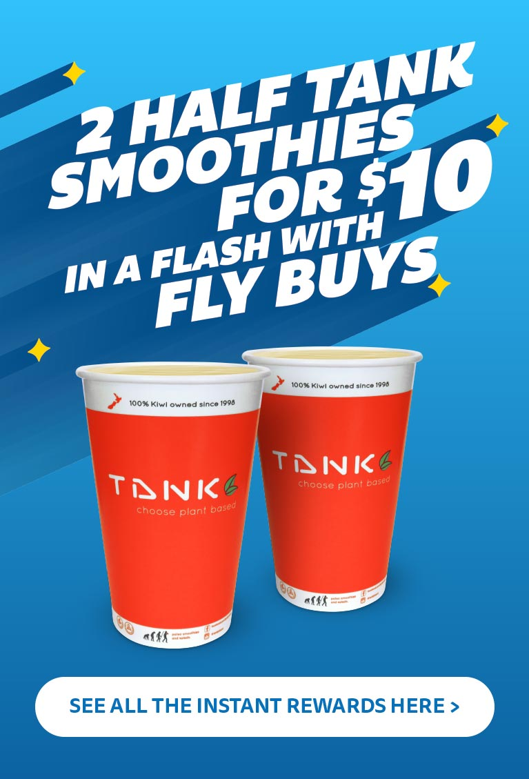 Grab a special offer from Tank with Instant Rewards