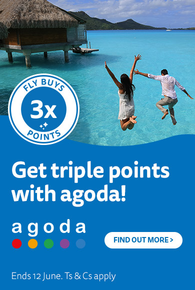 agoda joins Fly Buys!