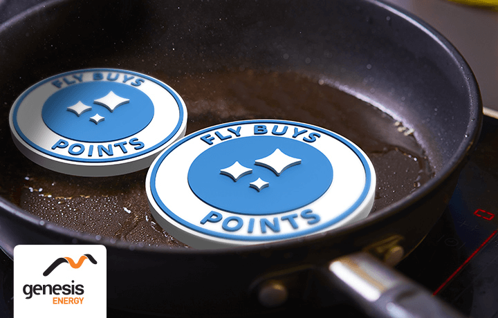 Get points while you cook with Genesis Energy.