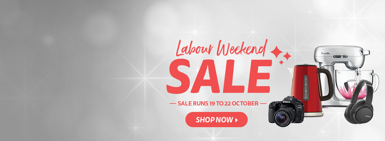 Labour Weekend Sale 2018