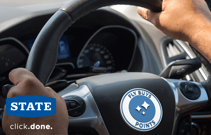 Protect your car and get easy points with State.