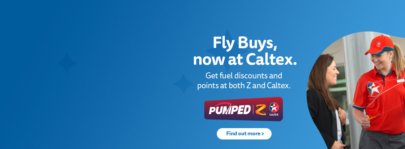 Caltex joins Fly Buys