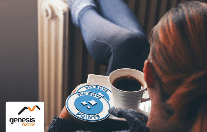 Stay warm and get points with Genesis Energy.