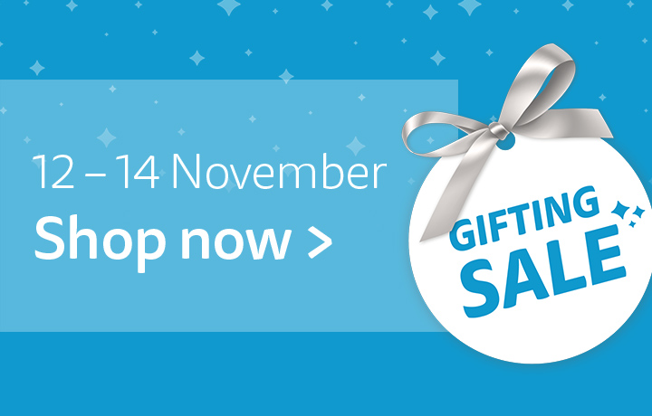 Christmas Gifting Sale 12-14 Nov