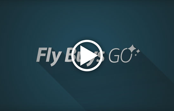 Fly Buys GO - Here's how it works