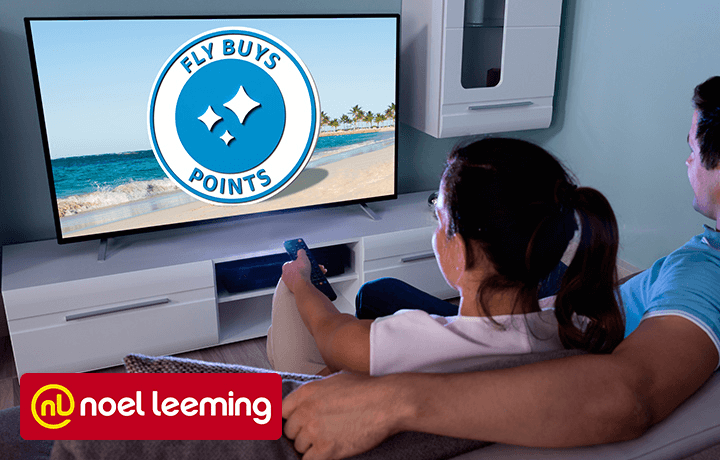 All the gear, all the points when you choose from your favourite TV brands at Noel Leeming.