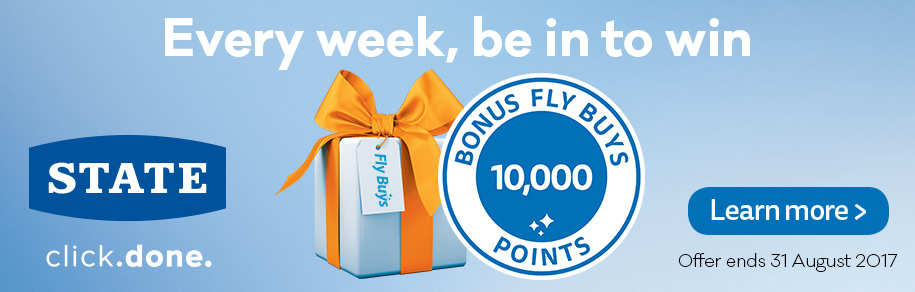 State 10,000 bonus points weekly draw
