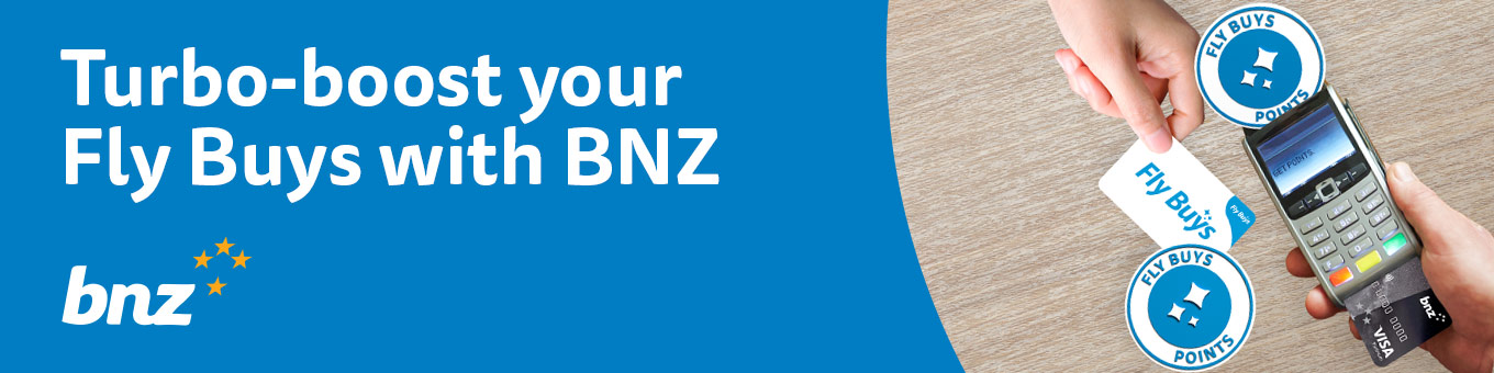 Turbo-boost your Fly Buys with BNZ