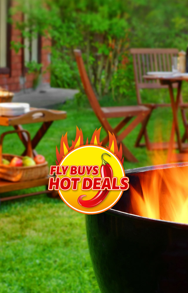 Fly Buys Hot Deal Rewards