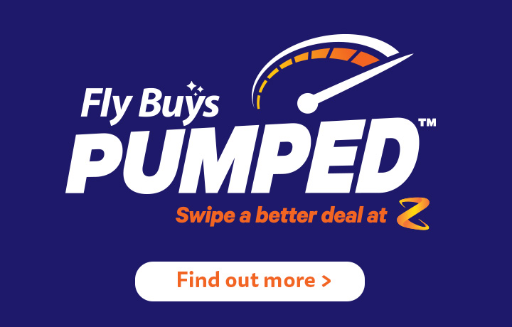 Fly Buys pumped - Swipe a better deal at Z