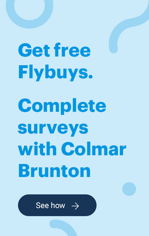 Flybuys Earn Colmar