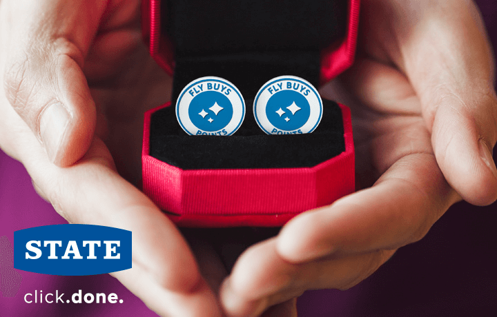 Protect your things and get points with State.