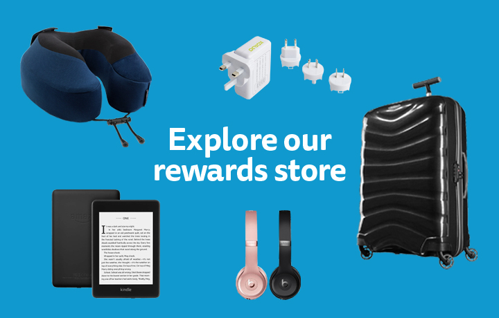 We've also got a huge range of rewards to make your holiday even better!